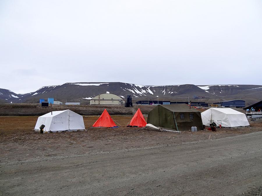 Spitzbergen - Campingplatz