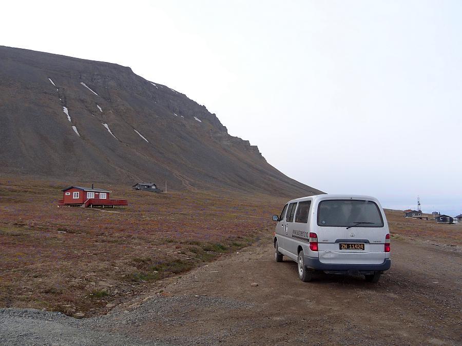 Spitzbergen - Bjørndalen Wochenendhäuser