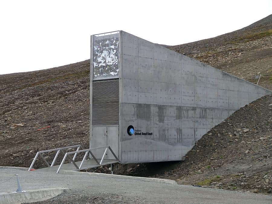 Spitzbergen - Global Seed Vault