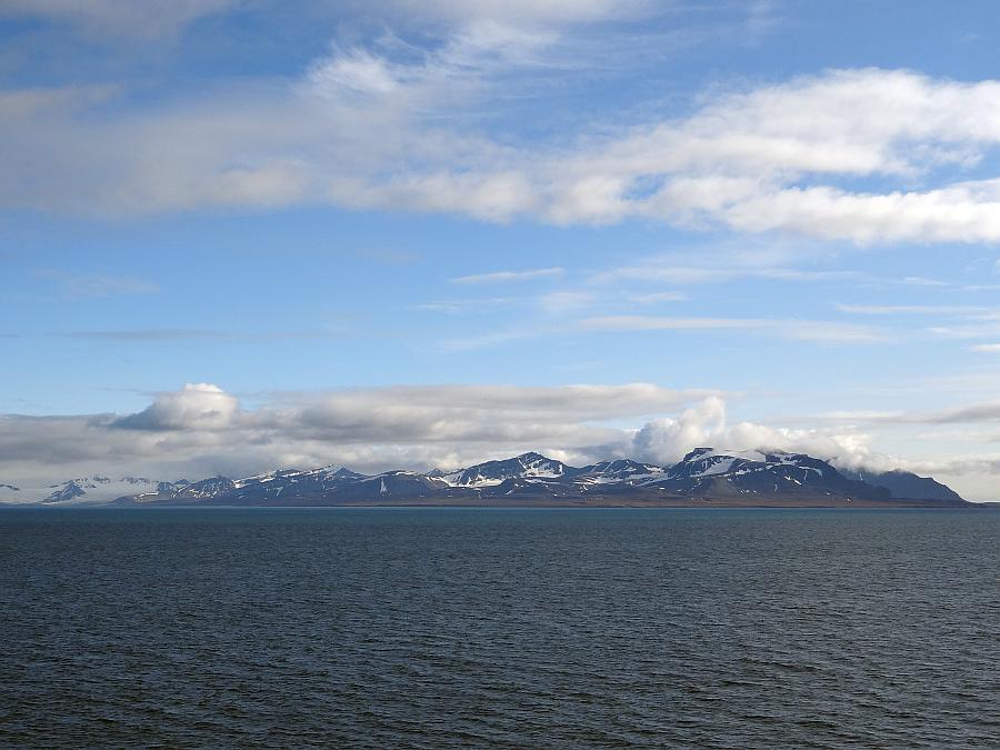 Spitzbergen - Hafenausfahrt