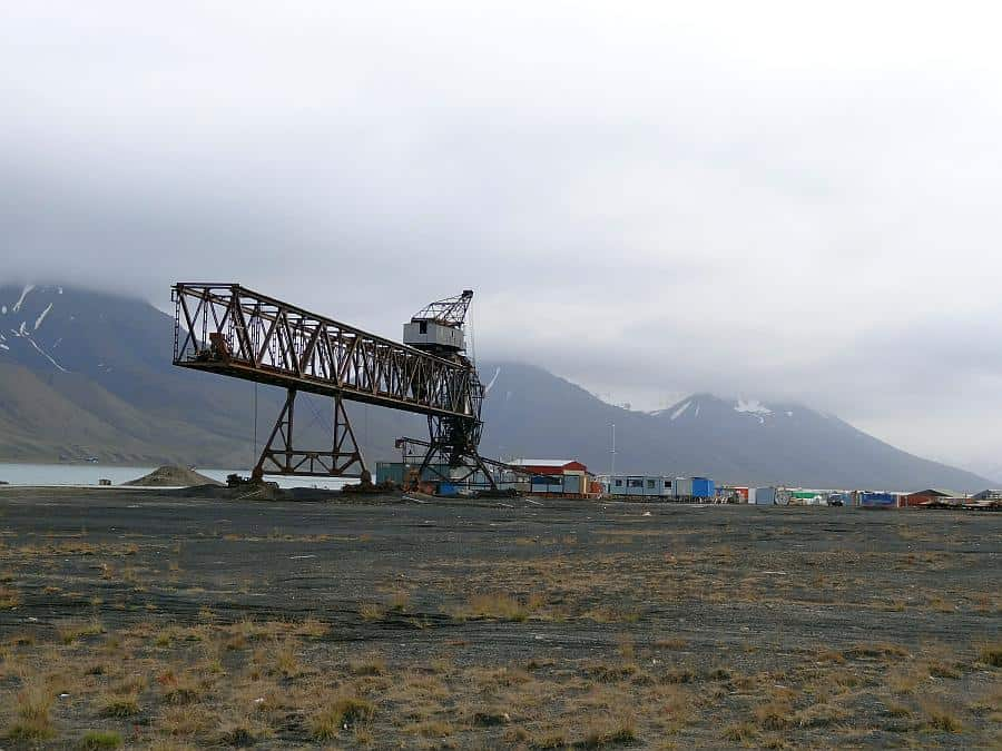 Spitzbergen - Kohlehafen