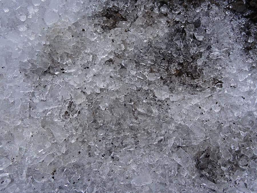 Spitzbergen - Longyeargletscher, Gratis Crushed Ice
