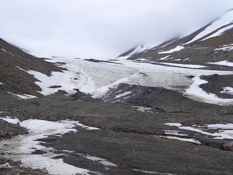 Spitzbergen - Longyeargletscher