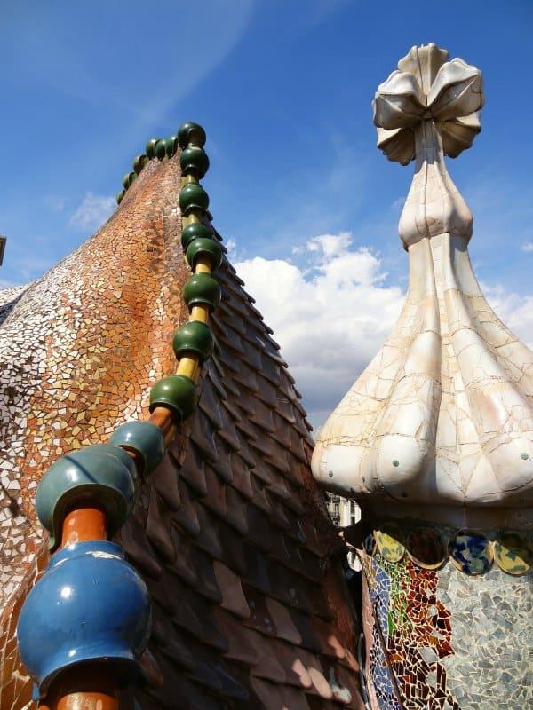 Casa Batlló - Dach