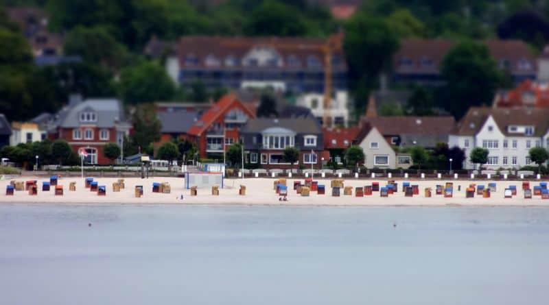 Deutsche Bucht – Strandkörbe – Kreuzfahrt