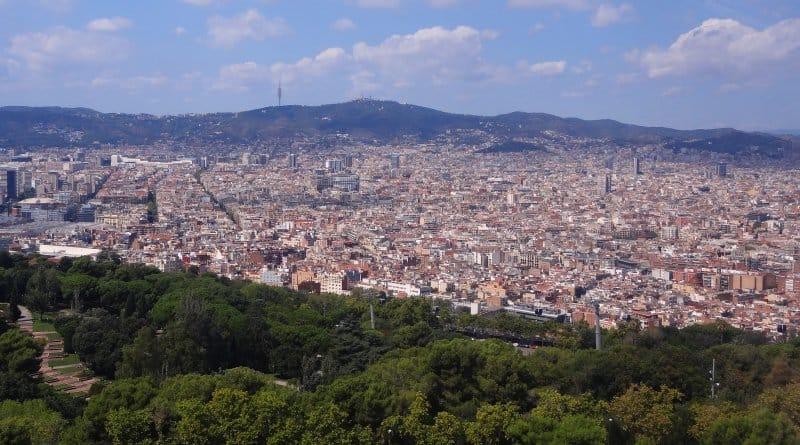 Aussicht vom Montjuïc