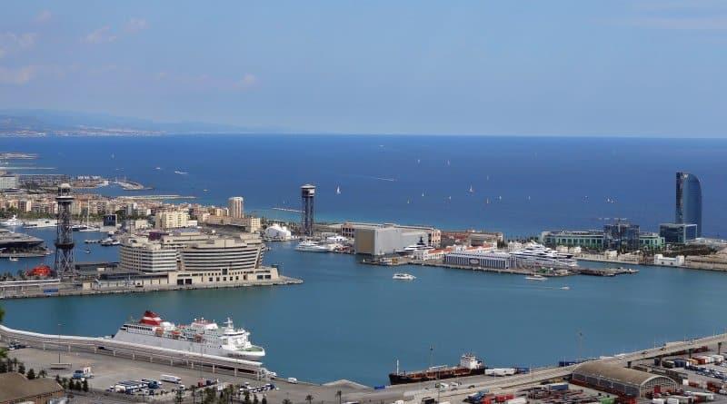 Aussicht über den Hafen