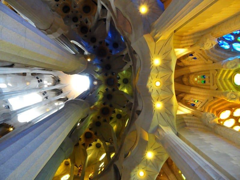 Sagrada Familia - Decke