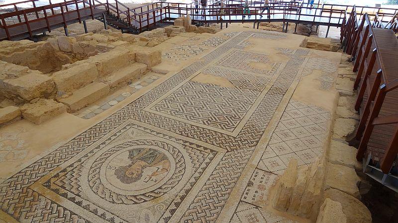Kourion - Mosaik