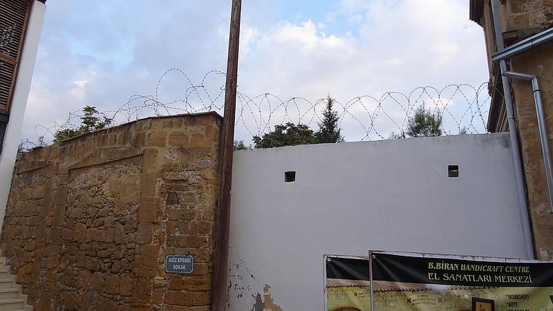 Nikosia - Grenzstreifen