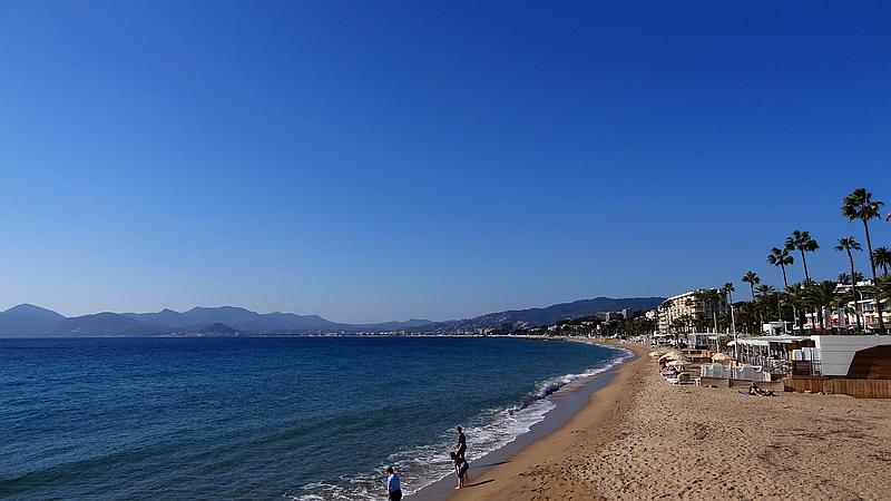 Cannes - Strand