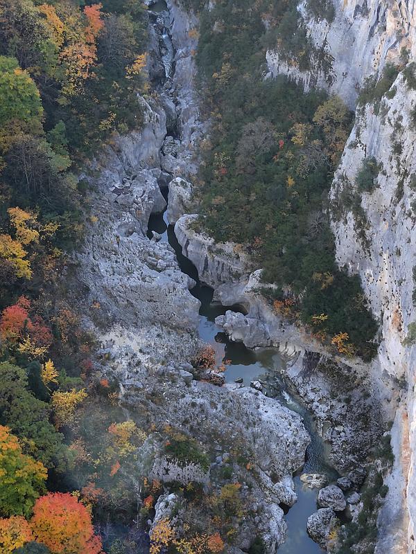 Pont de L'Artuby - Aussicht