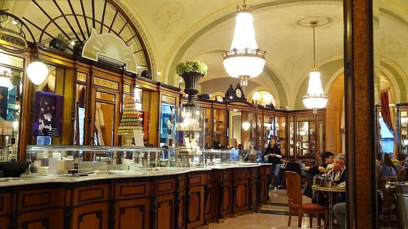 Café Gerbeaud in Budapest