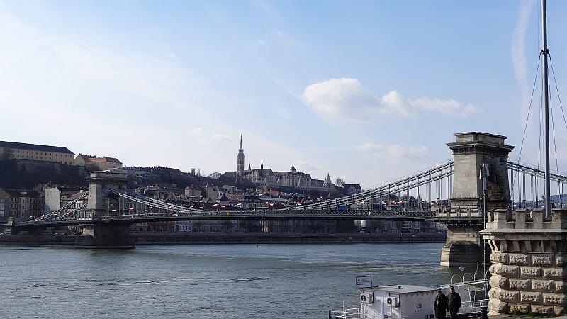 Donauufer in Budapest