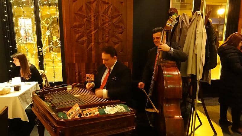 Livemusik in Budapest