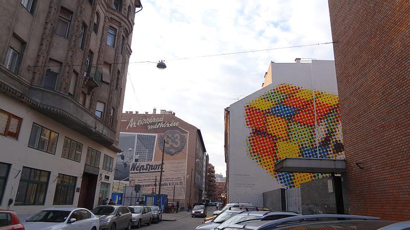 Street Art im jüdischen Viertel