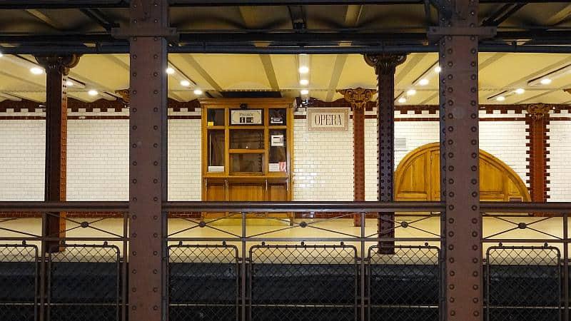 U-Bahn-Station in Budapest