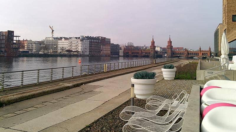 Berlin - Aussicht auf Spree und Oberbaumbrücke