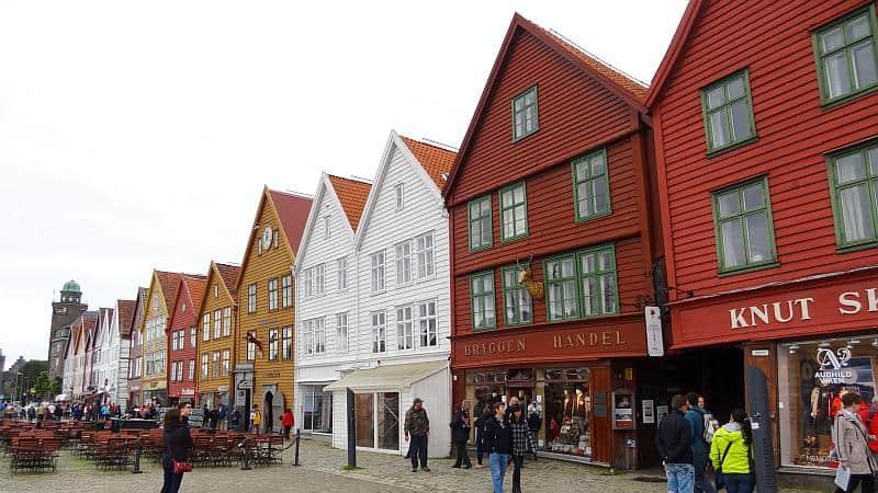 Bryggen - Die Altstadt von Bergen