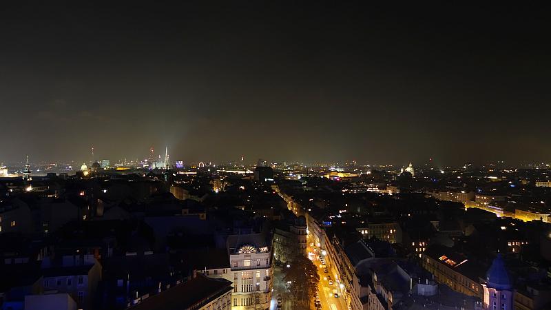 Silvester über den Dächern Wiens
