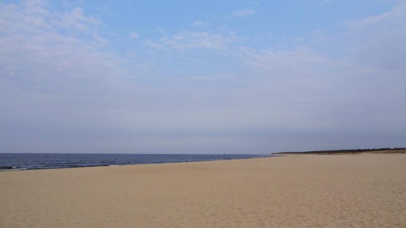 Stogi-Strand in Danzig