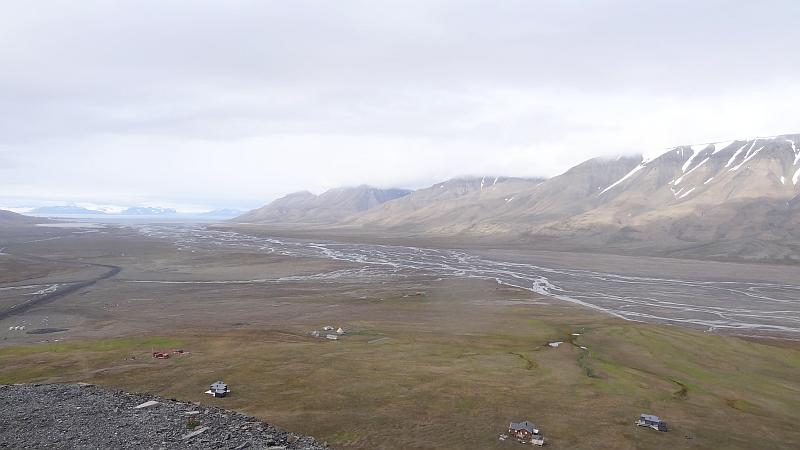 Das Adventstal auf Spitzbergen