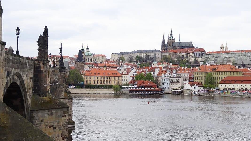 Prag - Aussicht auf den Hradschin