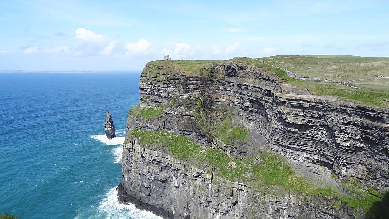 Blick auf den O'Brien's Tower