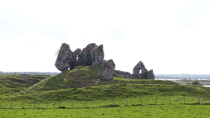 Ruine der Normannenfestung