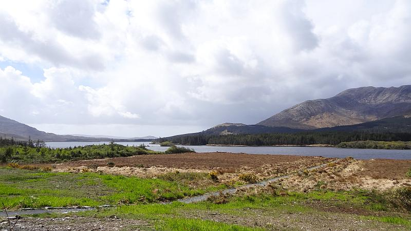 Inagh Valley in Connemara