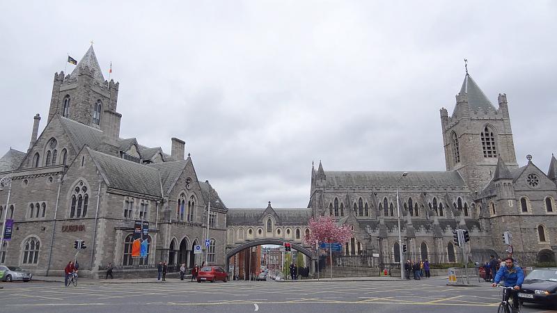 Die beeindruckende Christ Church Cathedral