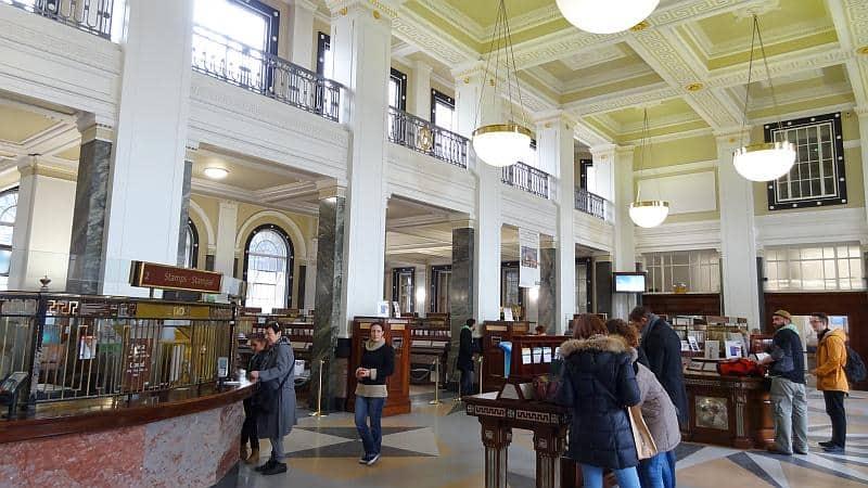 Das alte Postamt von Dublin