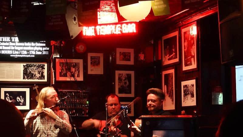 Live-Musik in der Temple Bar