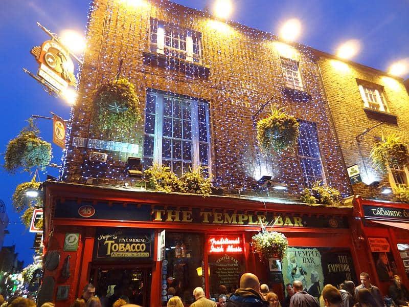 Die Temple Bar im gleichnamigen Viertel