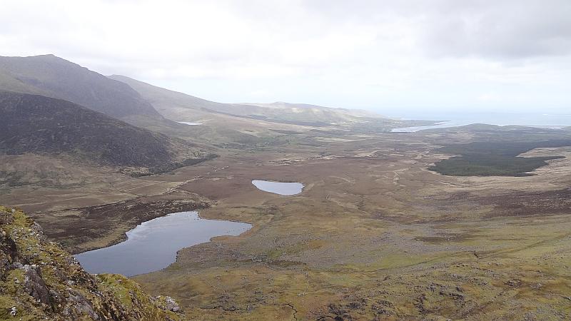 Aussicht vom Connor Pass