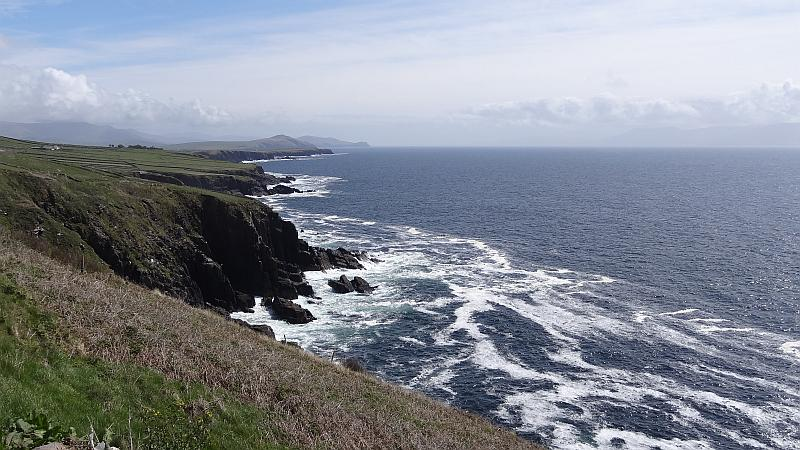 Steilküste auf der Dingle-Halbinsel