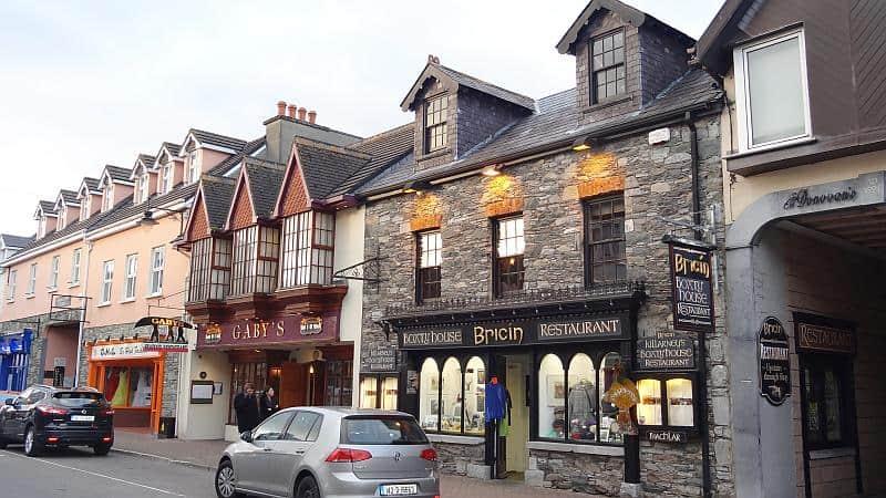 Zentrum von Killarney