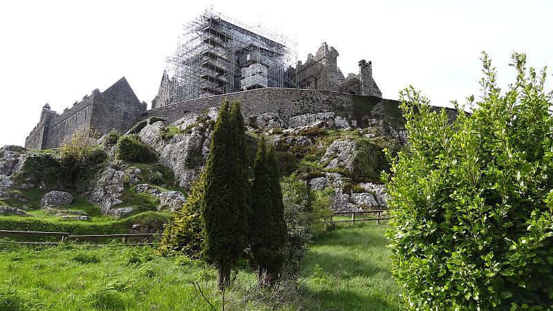 Blick auf den Rock of Cashel