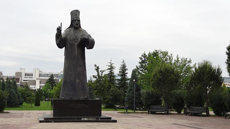 Statue des Heiligen Petar
