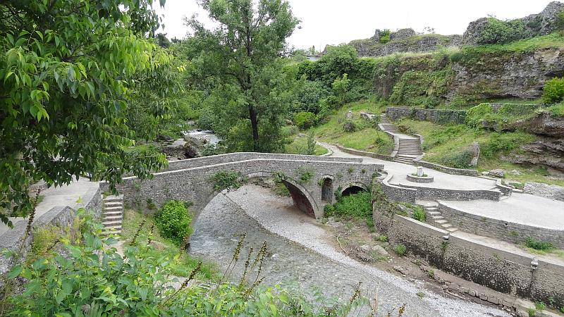 Ribnica-Brücke in Podgorica