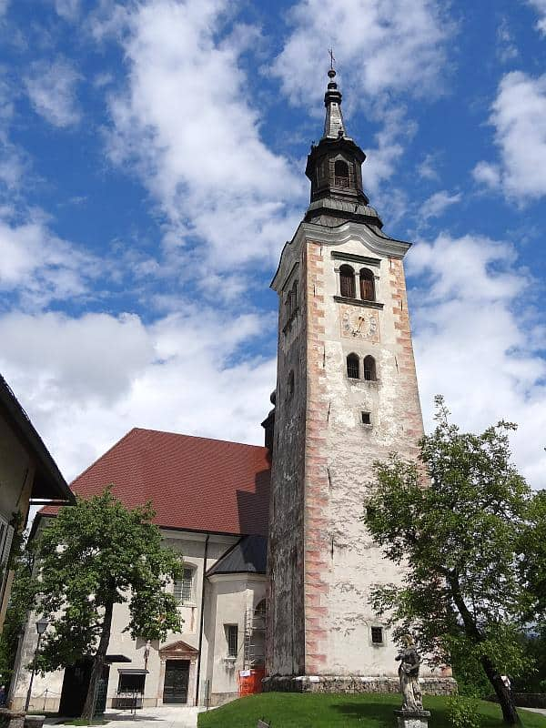 Marienkirche auf der Bleder Insel