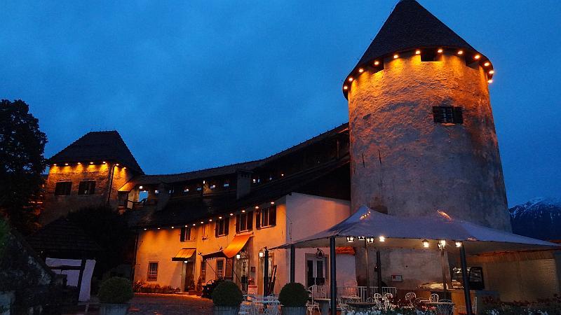 Die nächtliche Bleder Burg