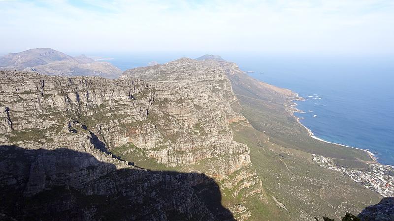 Blick über den Tafelberg