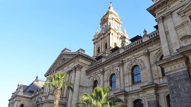 Das alte Rathaus in Kapstadt