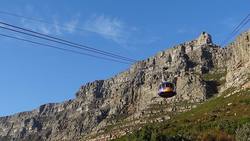 Gondel auf den Tafelberg