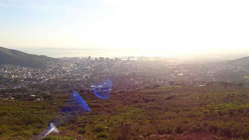 Aussicht Tafelberg Talstation
