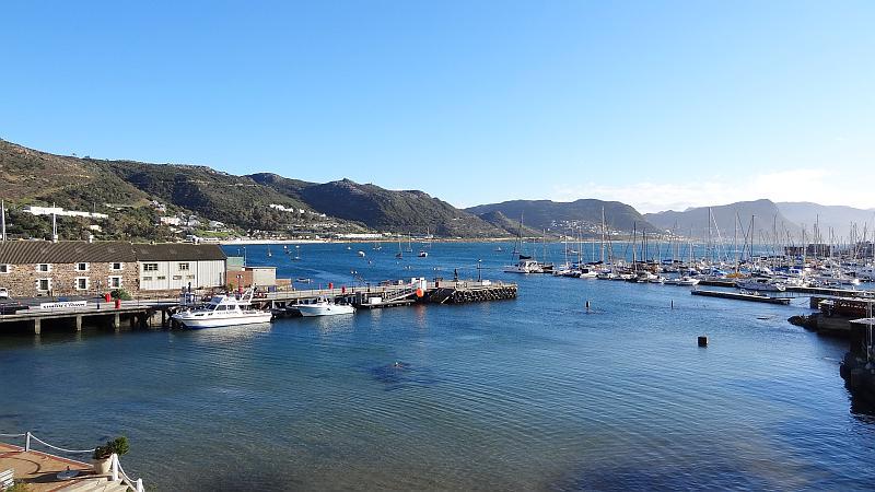 Hafenbecken von Simon's Town