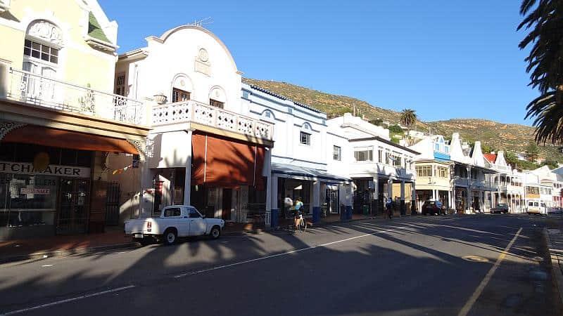 Zentrum von Simon's Town