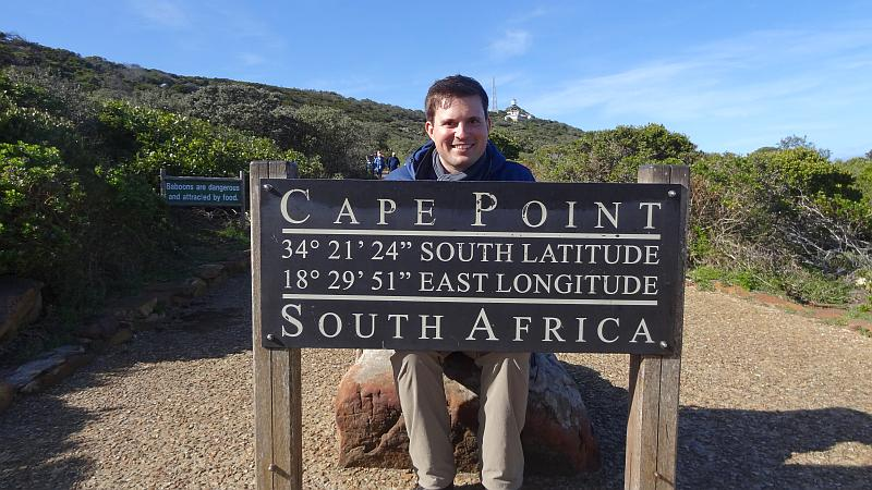 Cape Point Infotafel