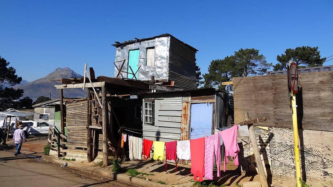Hütte in Kayamandi
